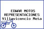 EDWAR MOTOS REPRESENTACIONES Villavicencio Meta