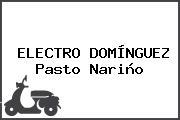 Electro Domínguez Pasto Nariño