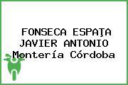 FONSECA ESPAÞA JAVIER ANTONIO Montería Córdoba