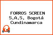 FORROS SCREEN S.A.S. Bogotá Cundinamarca