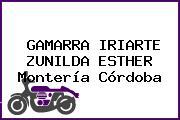 GAMARRA IRIARTE ZUNILDA ESTHER Montería Córdoba