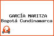 GARCÍA MARITZA Bogotá Cundinamarca