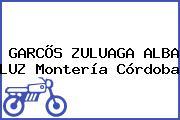 GARCÕS ZULUAGA ALBA LUZ Montería Córdoba