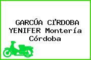 GARCÚA CµRDOBA YENIFER Montería Córdoba