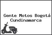 Gente Motos Bogotá Cundinamarca