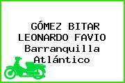 GÓMEZ BITAR LEONARDO FAVIO Barranquilla Atlántico
