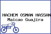 HACHEM OSMAN HASSAN Maicao Guajira