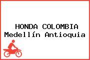 HONDA COLOMBIA Medellín Antioquia