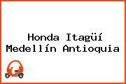 Honda Itagüí Medellín Antioquia