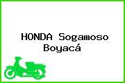 HONDA Sogamoso Boyacá