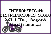 INTERAMERICANA DISTRIBUCIONES SIGLO XXI LTDA. Bogotá Cundinamarca