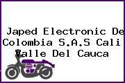 Japed Electronic De Colombia S.A.S Cali Valle Del Cauca
