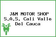 J&M MOTOR SHOP S.A.S. Cali Valle Del Cauca