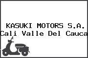 Kasuki Motors S.A. Cali Valle Del Cauca
