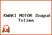 KWAKI MOTOR Ibagué Tolima