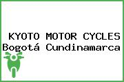 KYOTO MOTOR CYCLES Bogotá Cundinamarca