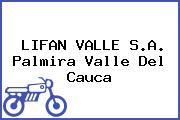 LIFAN VALLE S.A. Palmira Valle Del Cauca