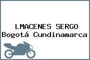 LMACENES SERGO Bogotá Cundinamarca