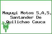 Mayuyi Motos S.A.S. Santander De Quilichao Cauca