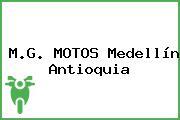 M.G. MOTOS Medellín Antioquia