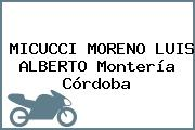 MICUCCI MORENO LUIS ALBERTO Montería Córdoba