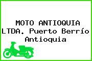 MOTO ANTIOQUIA LTDA. Puerto Berrío Antioquia