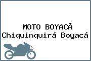 MOTO BOYACÁ Chiquinquirá Boyacá