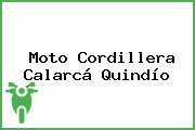 Moto Cordillera Calarcá Quindío