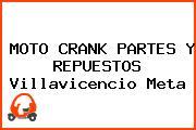 MOTO CRANK PARTES Y REPUESTOS Villavicencio Meta