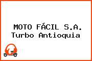 MOTO FÁCIL S.A. Turbo Antioquia