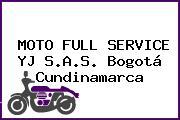 MOTO FULL SERVICE YJ S.A.S. Bogotá Cundinamarca