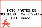 MOTO PARTES DE OCCIDENTE Cali Valle Del Cauca