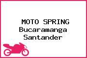 MOTO SPRING Bucaramanga Santander