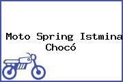 Moto Spring Istmina Chocó