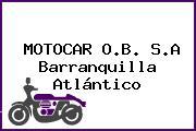 MOTOCAR O.B. S.A Barranquilla Atlántico