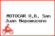 MOTOCAR O.B. San Juan Nepomuceno