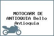 MOTOCARR DE ANTIOQUIA Bello Antioquia