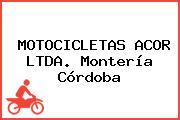 MOTOCICLETAS ACOR LTDA. Montería Córdoba