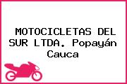MOTOCICLETAS DEL SUR LTDA. Popayán Cauca