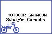 MOTOCOR SAHAGÚN Sahagún Córdoba