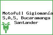 Motofull Gigiomanía S.A.S. Bucaramanga Santander
