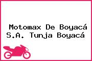 Motomax De Boyacá S.A. Tunja Boyacá
