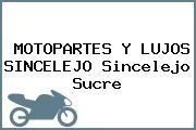 MOTOPARTES Y LUJOS SINCELEJO Sincelejo Sucre