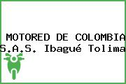 MOTORED DE COLOMBIA S.A.S. Ibagué Tolima