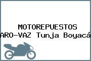 MOTOREPUESTOS ARO-VAZ Tunja Boyacá