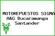 MOTOREPUESTOS SIGMA A&G Bucaramanga Santander