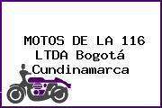 MOTOS DE LA 116 LTDA Bogotá Cundinamarca
