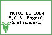 Motos De Suba S.A.S. Bogotá Cundinamarca