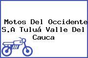Motos Del Occidente S.A Tuluá Valle Del Cauca