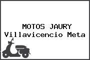 MOTOS JAURY Villavicencio Meta